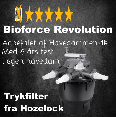 Bioforce Revolution trykfilter anmeldelser