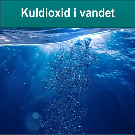Kuldioxid i vandet