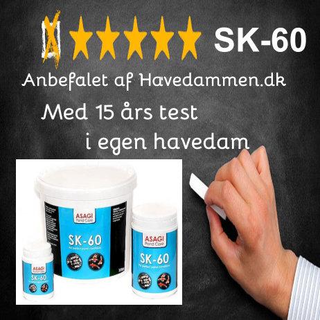 Anmeldelse SK60 mod trådalger