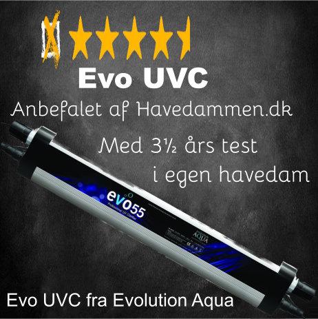 Test af EVO UVC mod alger