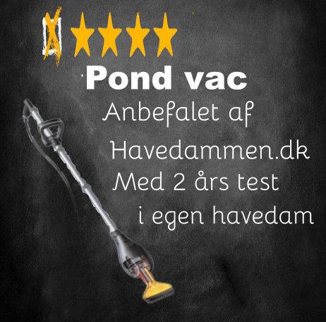 Pond Vac - havedamsstøvsuger Test