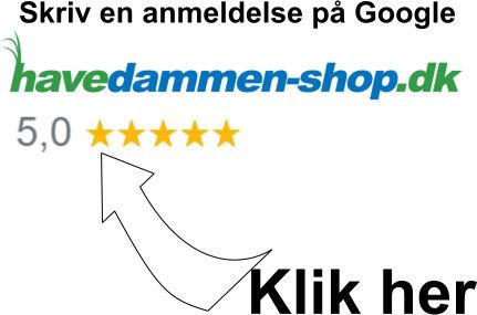 Havedammen-shop.dk anmeldelser